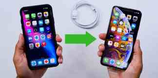 transfer data from your old iPhone to a new iPhone