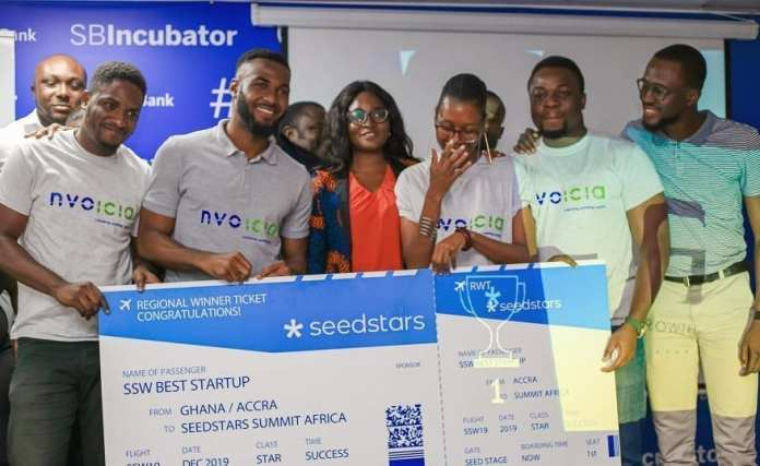 Nvoicia wins 2019 Seedstars startup competition