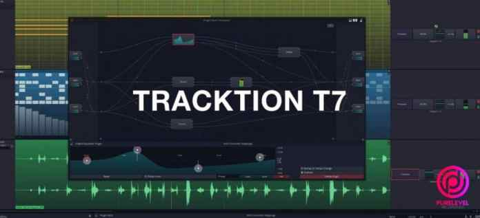 tracktion t7 free music production program