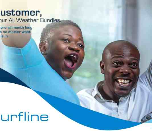 Surfline 4G LTE expanding to Kasoa and other areas
