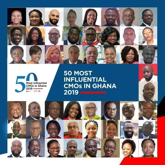 Avance Media Ranking: 50 most influential CMOs in Ghana 2019