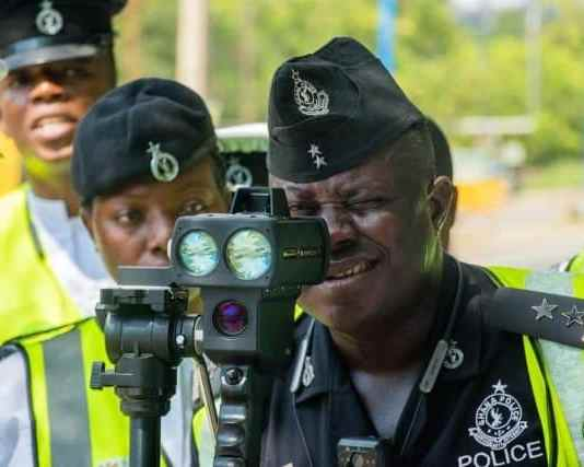 Ghana Police gets new speed detection devices to check speed limit violators
