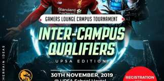 Gamers Lounge Inter-Campus tournament