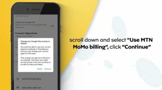 pay for apps with MTN MoMo