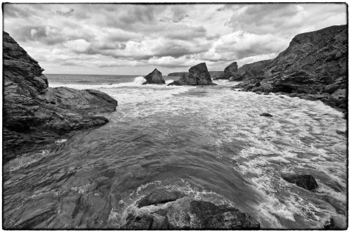 the giant's stairs - Bedruthan Steps