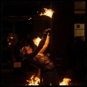 fire show V