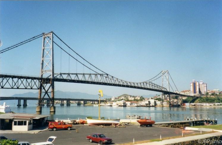 Brasil - Santa Catarina - Florianopolis - Ponte Hercilio Luz