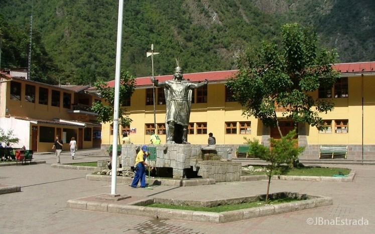 Peru - Aguas Calientes - Plaza de Armas