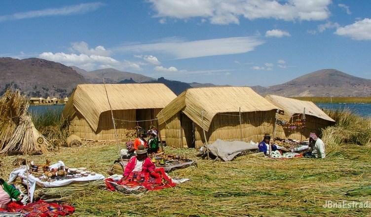 Peru - Puno - Lago Titicaca - Ilhas Flutuantes de Uros