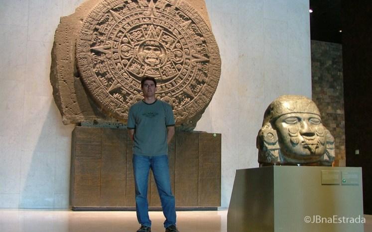 Mexico - Cidade do Mexico - Bosque de Chapultepec - Museo Nacional de Antropologia - Sala Azteca