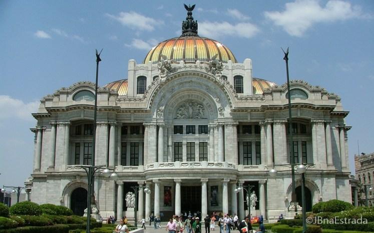 Mexico - Cidade do Mexico - Palacio de Bellas Artes