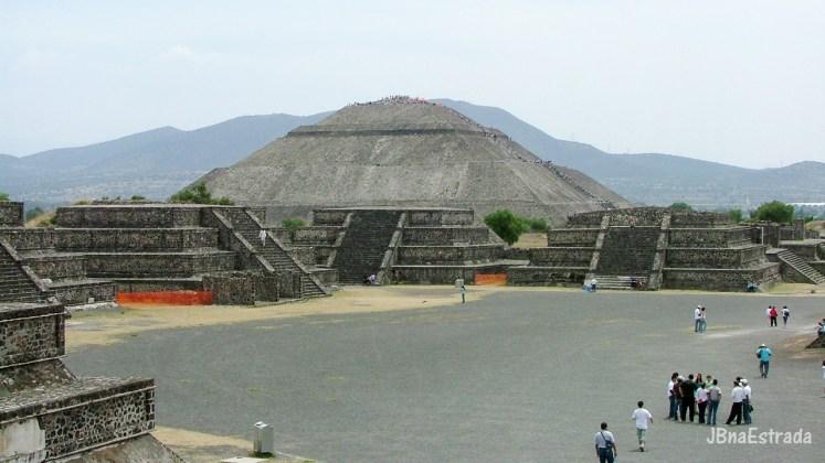 Mexico - Teotihuacan - Piramide del Sol