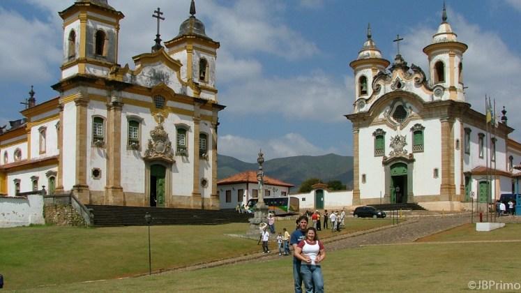 Brasil - Minas Gerais - Mariana - Igreja Sao Francisco de Assis e Ordem das Carmelitas