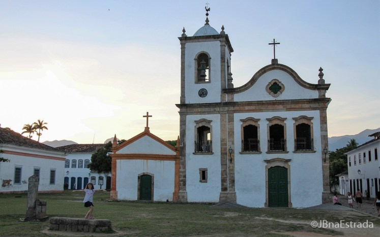 Brasil - Rio de Janeiro - Paraty - Igreja de Santa Rita de Cassia