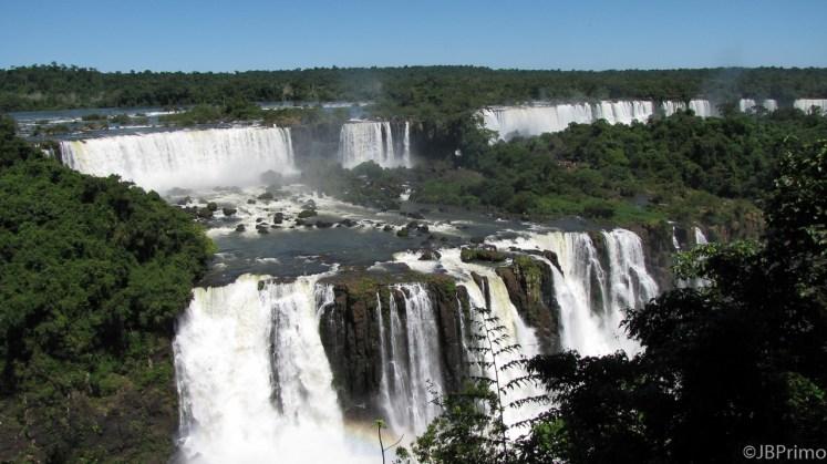 Brasil - Parana - Foz do Iguacu - PN do Iguacu - Cataratas do Iguacu - Vista Lado Argentino