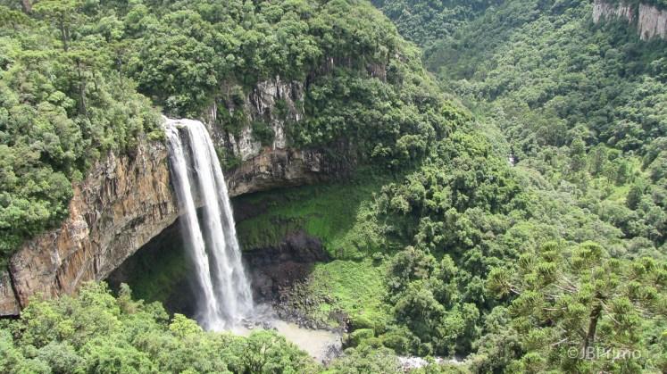 Brasil - Rio Grande do Sul - Canela - Parque do Caracol - Cascata do Caracol