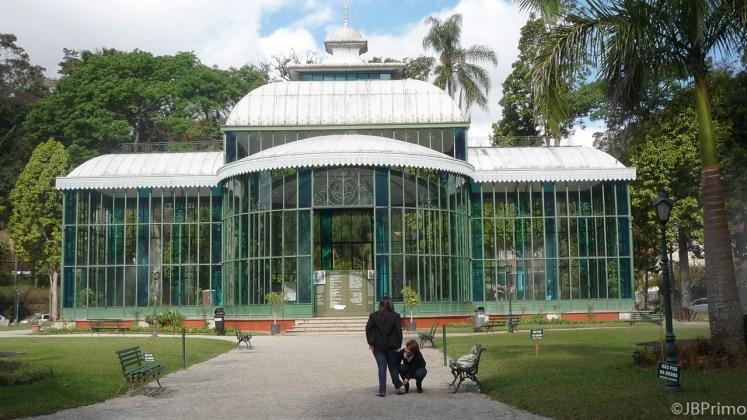 Brasil - Rio de Janeiro - Petropolis - Palacio de Cristal