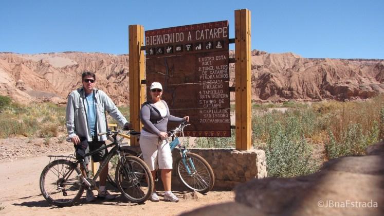 Chile - Atacama - Passeio de bicicleta ate a Quebrada del Diablo