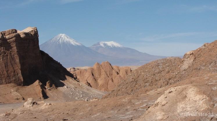 Chile - Atacama - Vale de la Luna - Vulcao Licancabur