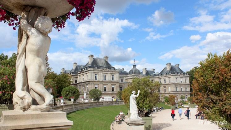 Franca - Paris - Palacio e Jardins de Luxemburgo