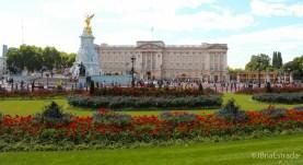 Inglaterra - Londres - Palacio de Buckingham