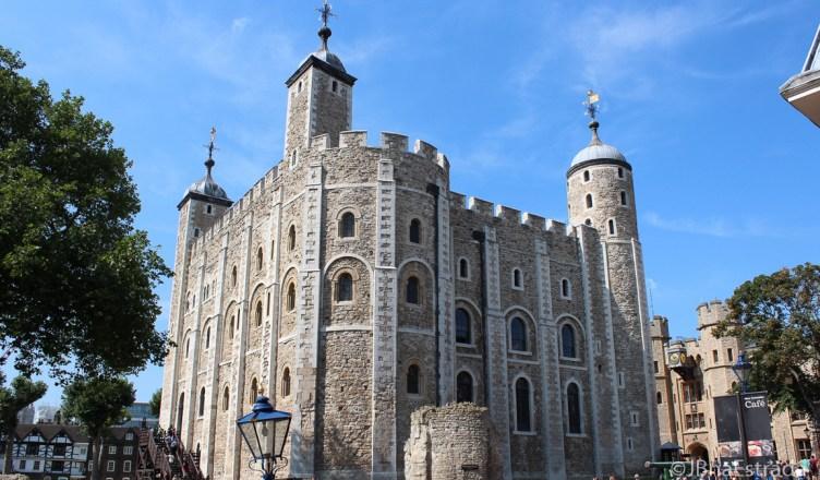 Inglaterra - Londres - Torre de Londres - Torre Branca