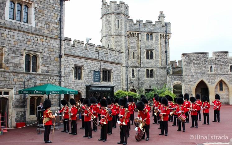 Inglaterra - Windsor - Palacio de Windsor - Troca da Guarda|