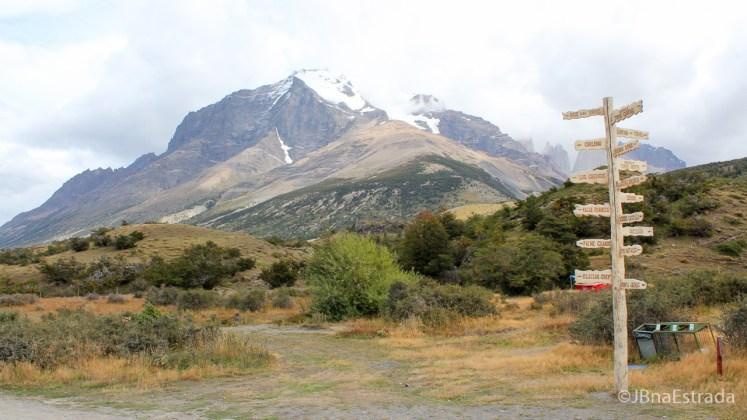 Chile - Parque Nacional Torres del Paine - Maciço Paine