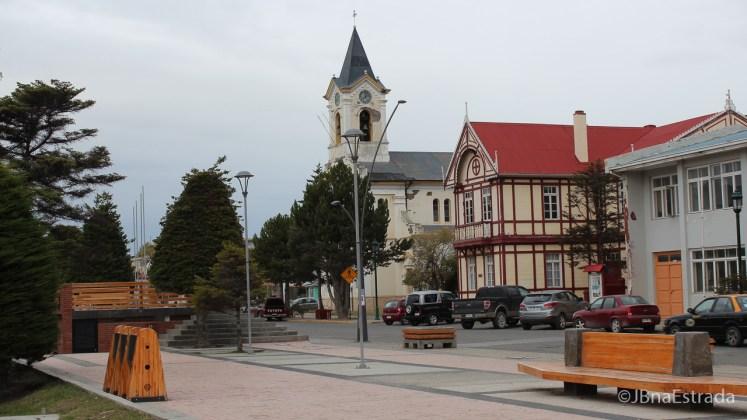 Chile - Puerto Natales - Plaza de Armas