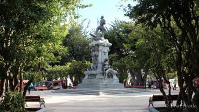 Chile - Punta Arenas - Plaza de Armas de Punta Arenas