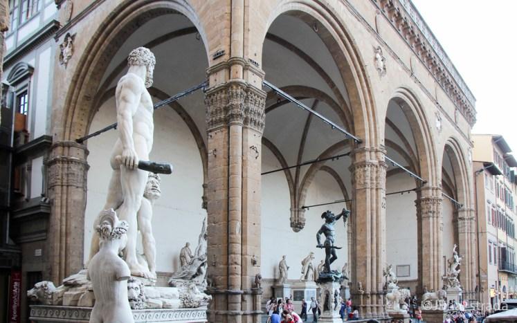 Italia - Florenca - Piazza della Signoria