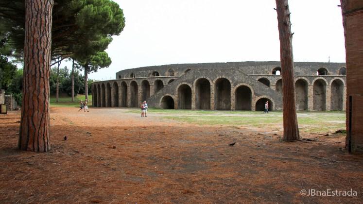Italia - Pompeia - Anfiteatro