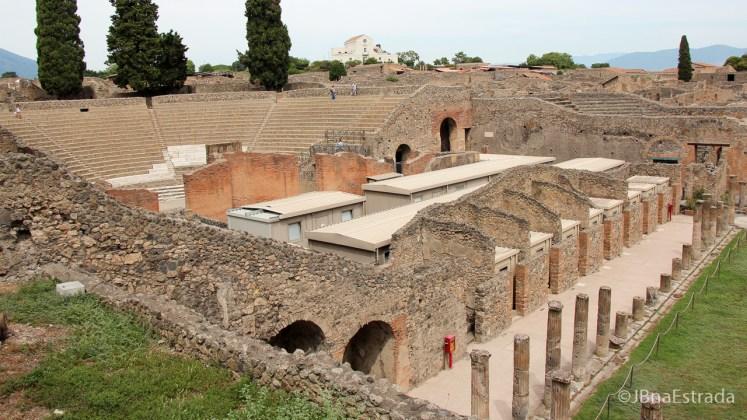 Italia - Pompeia - Teatro Grande