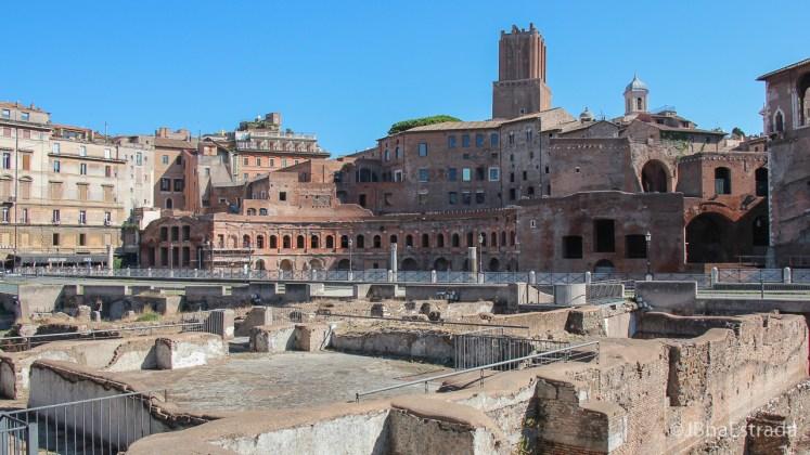 Italia - Roma - Forum e Mercado de Trajano