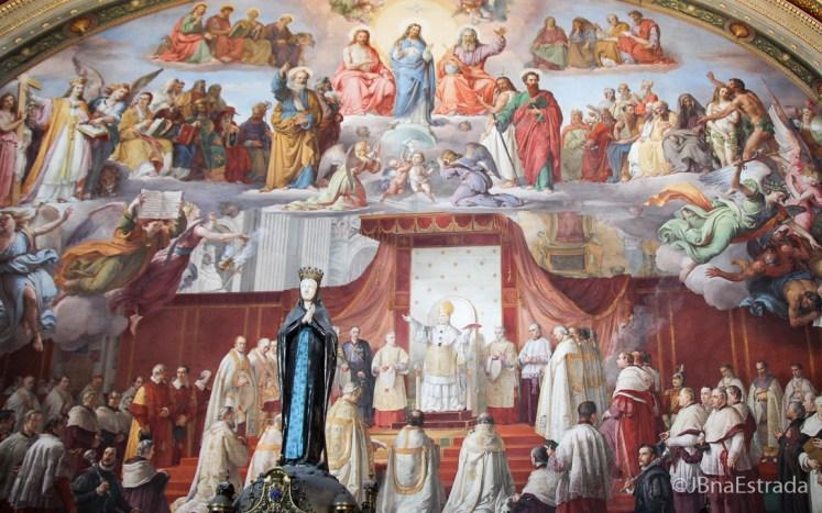 Italia - Vaticano - Museus Vaticanos - Sala da Imaculada