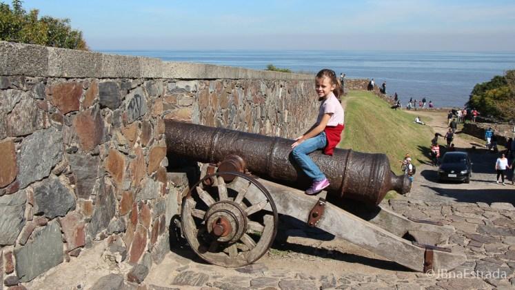 Uruguai - Colonia del Sacramento - Fortaleza de Sao Gabriel
