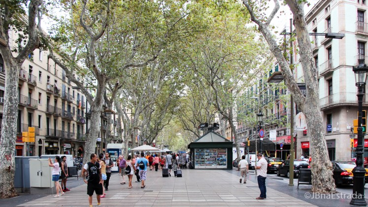 Espanha - Barcelona - Las Ramblas