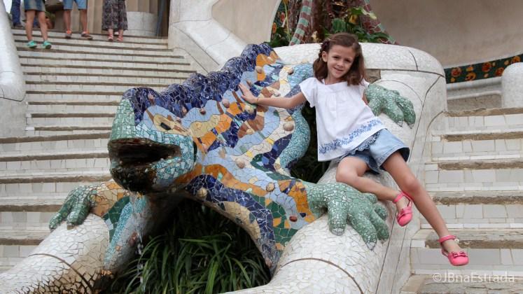 Espanha - Barcelona - Park Guell - Escala Monumental