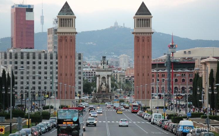 Espanha - Barcelona - Placa dEspanya