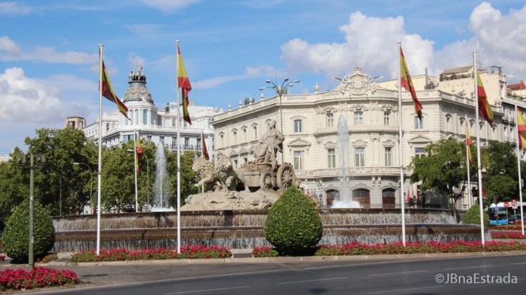 Espanha - Madri - Plaza de Cibeles