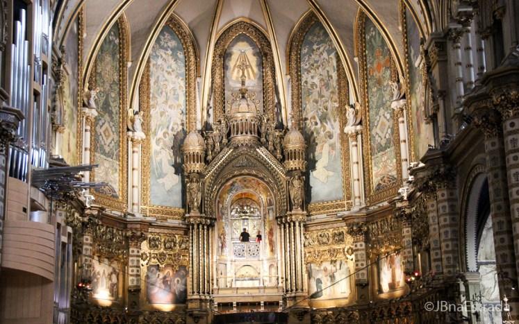 Espanha - Montserrat - Monasterio de Santa Maria de Montserrat