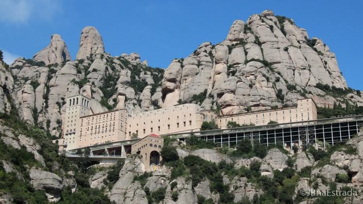 Espanha - Montserrat - Trilha a Capela de Santa Cova
