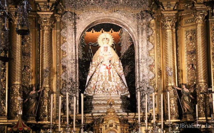 Espanha - Sevilha - Basilica de Santa Maria de la Esperanza Macarena