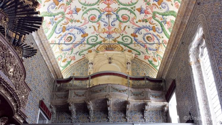 Portugal - Coimbra - Universidade de Coimbra - Capela de Sao Miguel