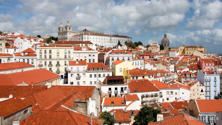 Portugal - Lisboa - Miradouro das Portas do Sol