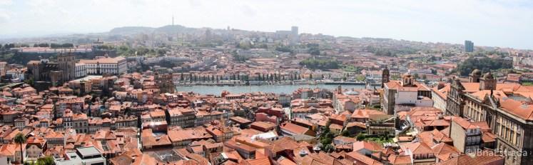 Portugal - Porto - Vista da Torre dos Clerigos
