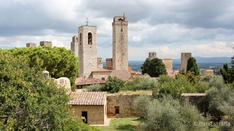 Italia - San Gimignano - Rocca di Montestaffoli