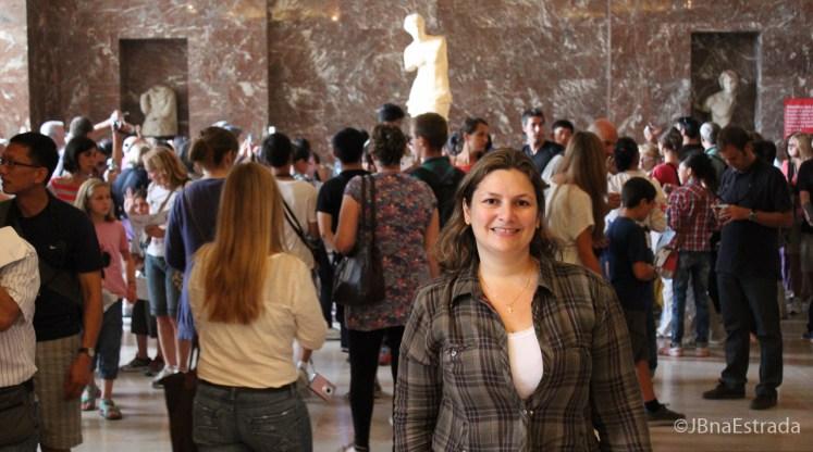 Franca - Paris - Museu do Louvre - Antiguidades Gregas - Galeria Venus de Milo