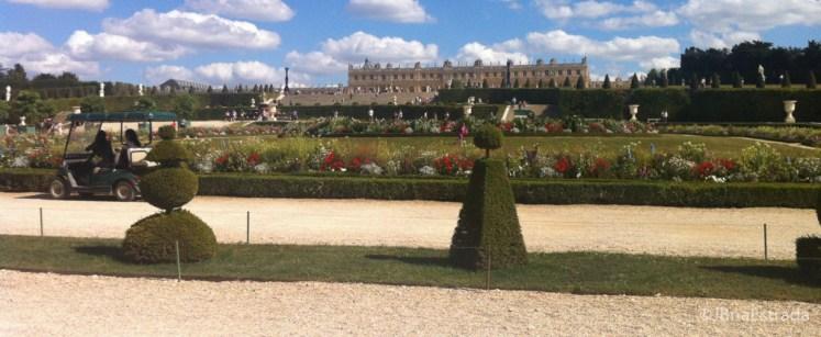 Franca - Paris - Palacio de Versailles - Carrinho Elétrico