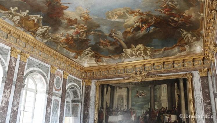 Franca - Paris - Palacio de Versailles - Pinturas de Tetos